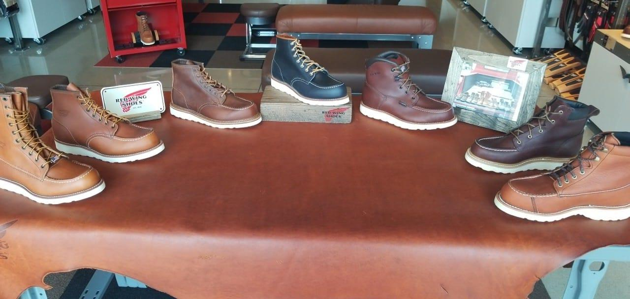 Red Wing Shoes- Carmel image 0