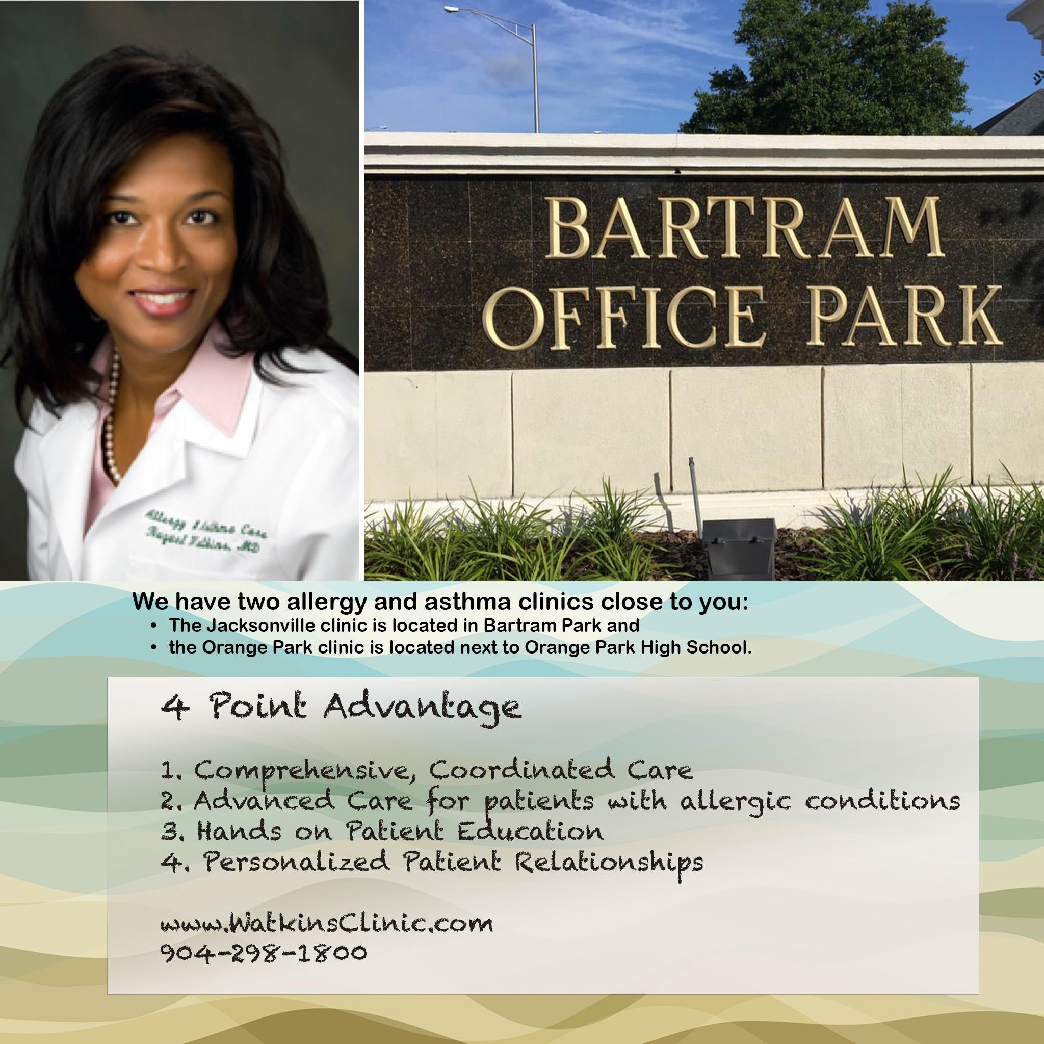 Watkins Allergy and Asthma Clinic Bartram Park Office image 0