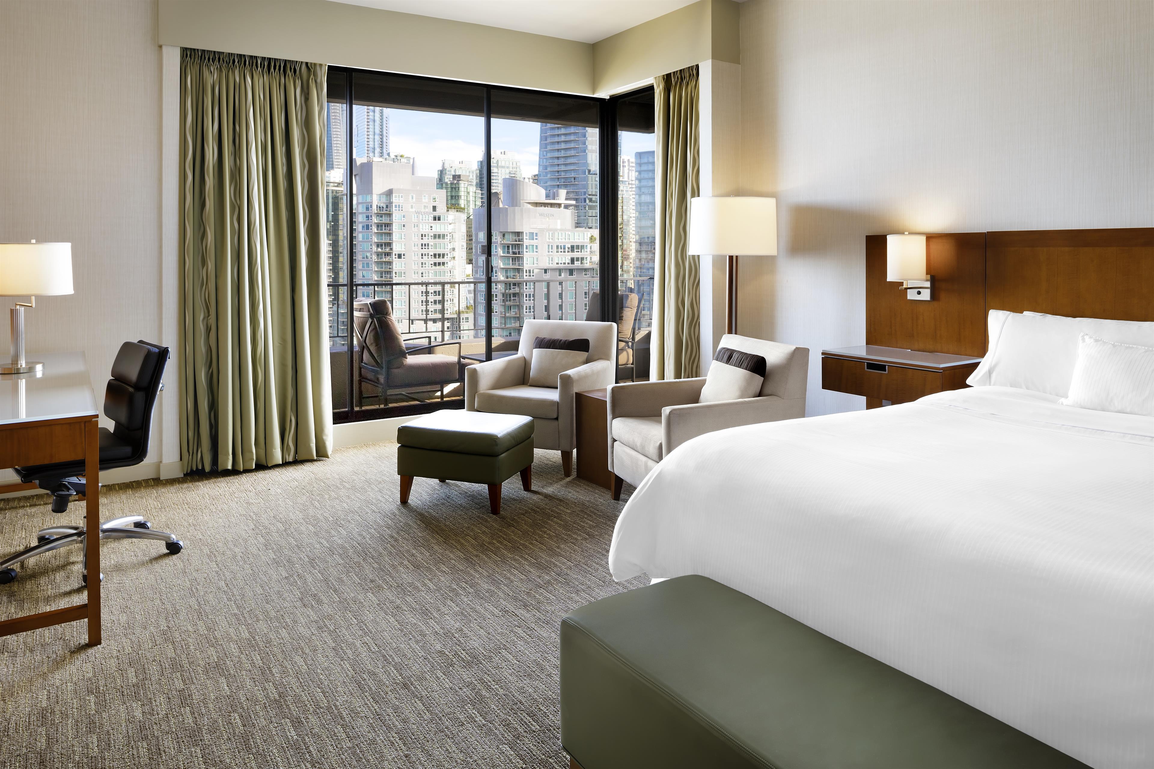 The Westin Bayshore, Vancouver in Vancouver: Premium Room City View