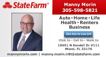 State Farm Manny Morin 10651 N Kendall Dr Ste 111 Miami Fl Insurance Mapquest