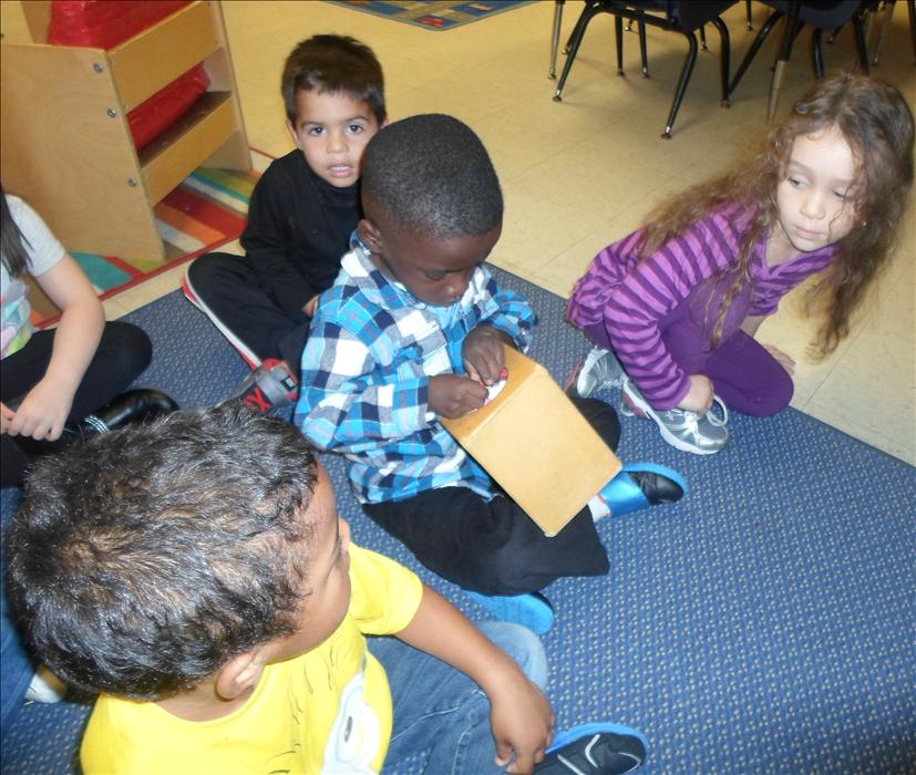 This is What Learning Looks Like: Building brain power as they demonstrate flexible thinking by guessing what's inside.