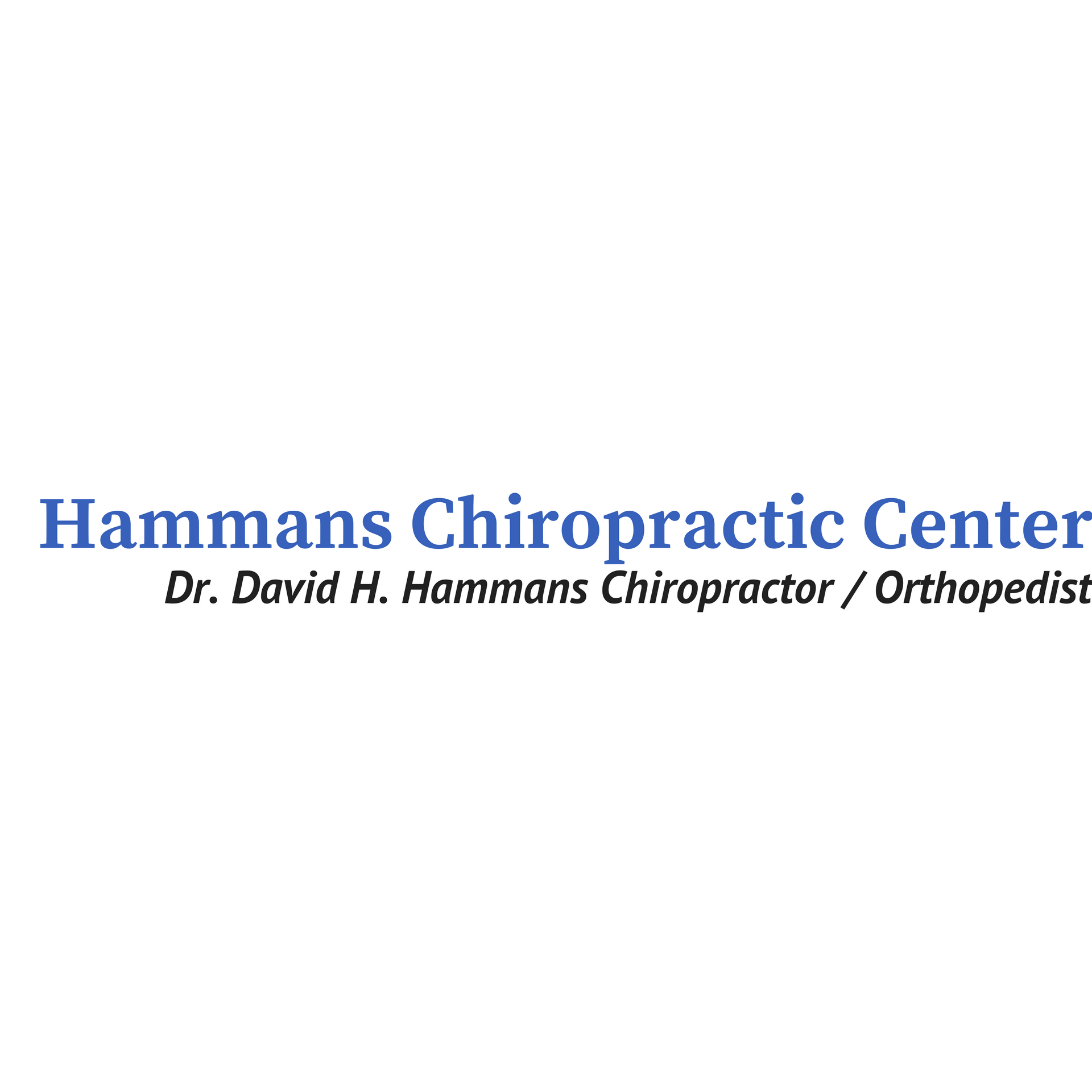 Hammans Chiropractic Clinic image 0
