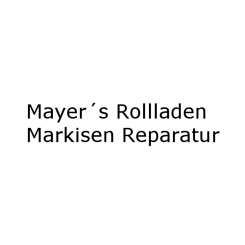 mayer s rollladen markisen reparatur in deggendorf branchenbuch deutschland. Black Bedroom Furniture Sets. Home Design Ideas