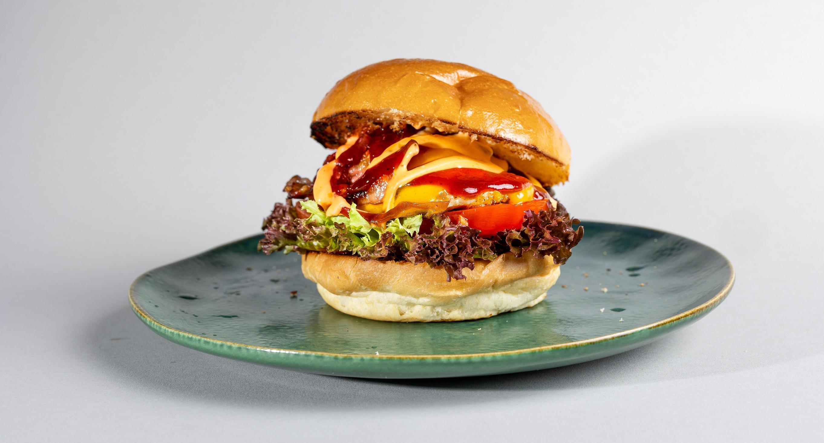 Grilled BBQ Chicken Burger