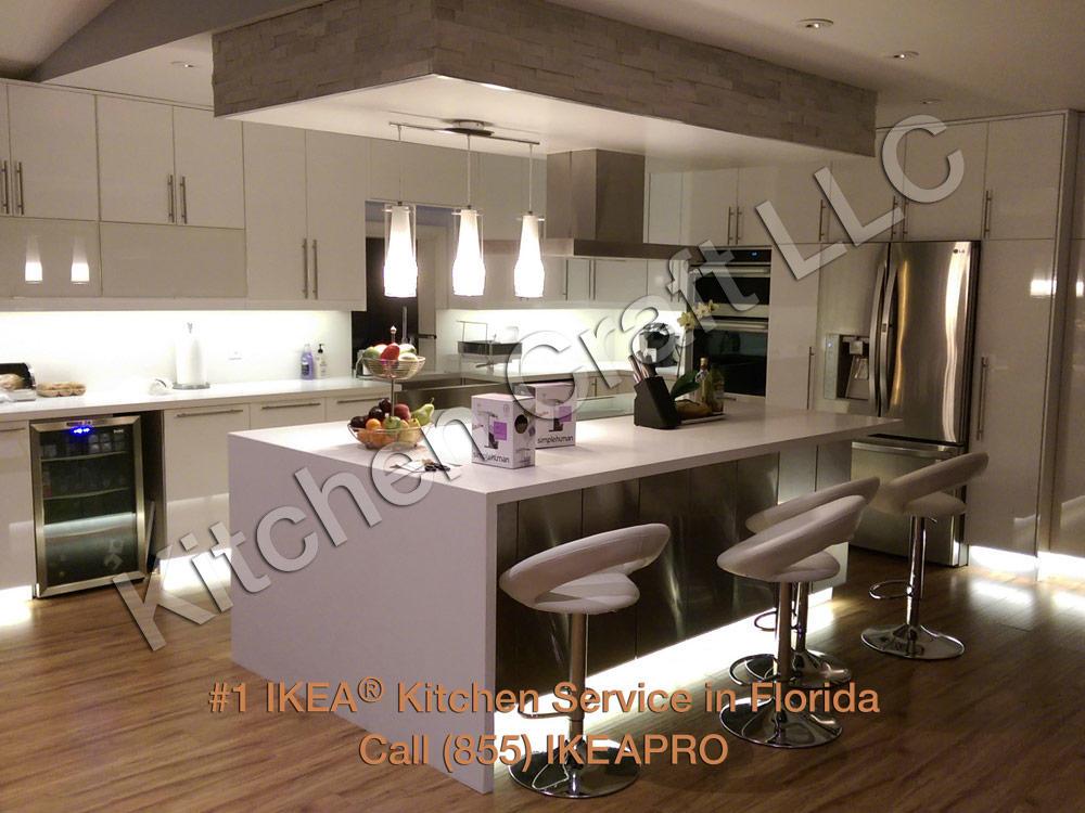 Kitchen craft llc ikea kitchen installation sarasota for Kitchen cabinets venice fl