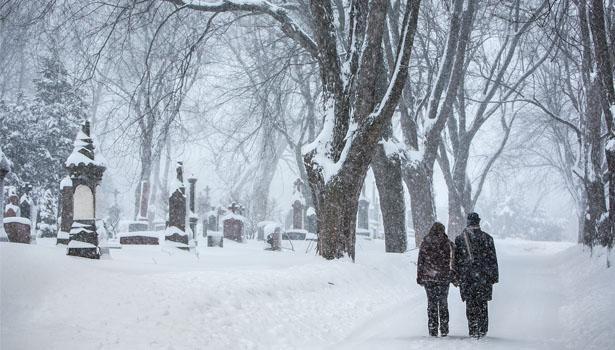 Cimetière Notre-Dame-des-Neiges à Montréal