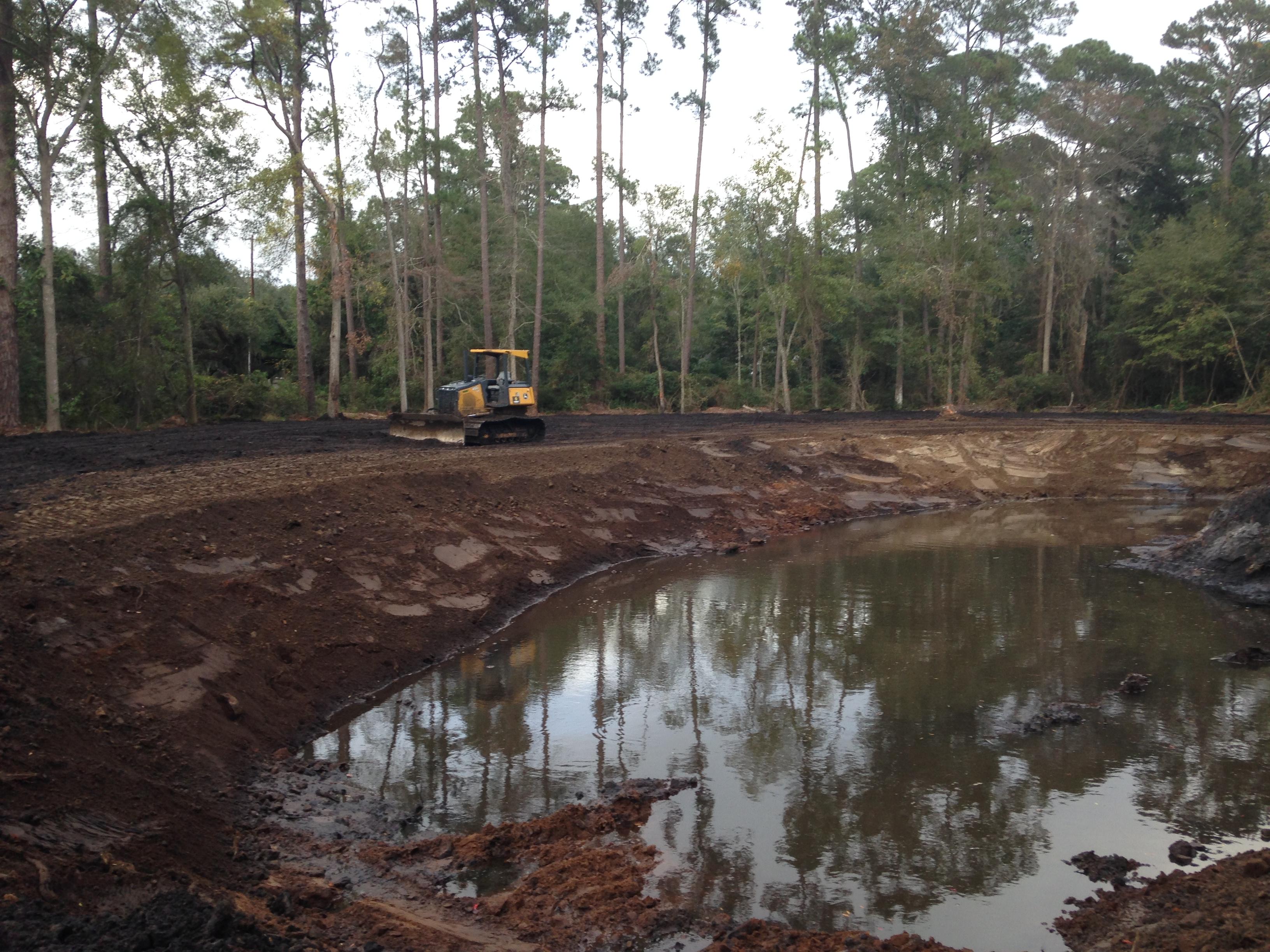 Pond building, savannah ga.
