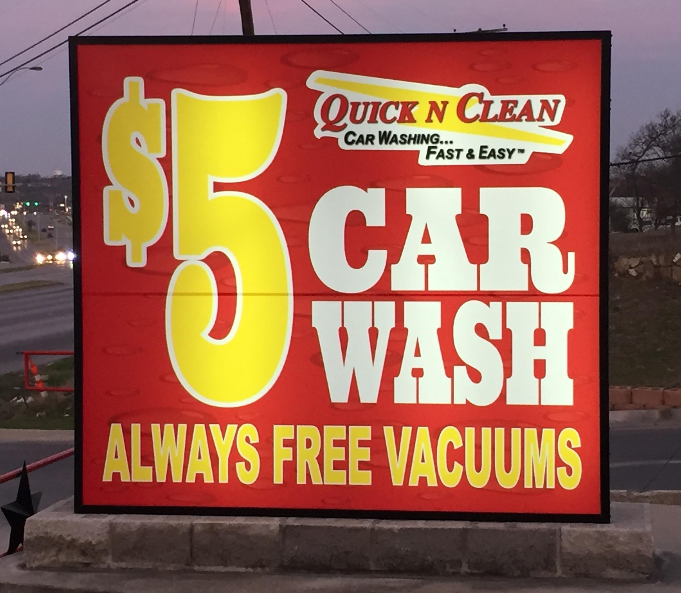 Quick N Clean Car Wash - JACKSBORO TX - Independently Owned