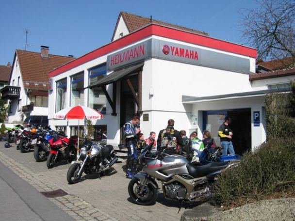 Yamaha Heilmann Motorrad und Motorroller