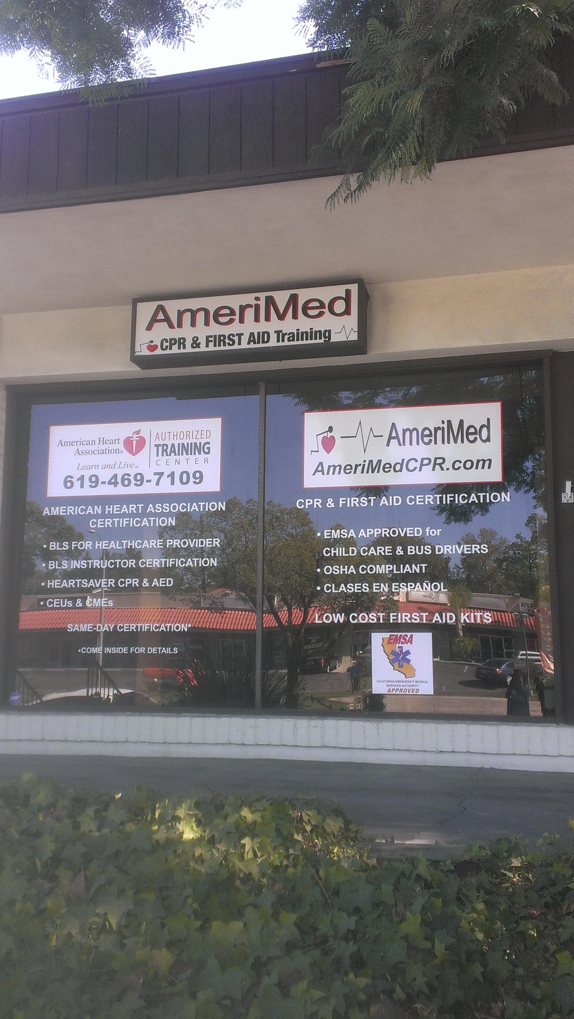 Amerimed Cpr Training 7435 University Ave 104 La Mesa Ca Vocational