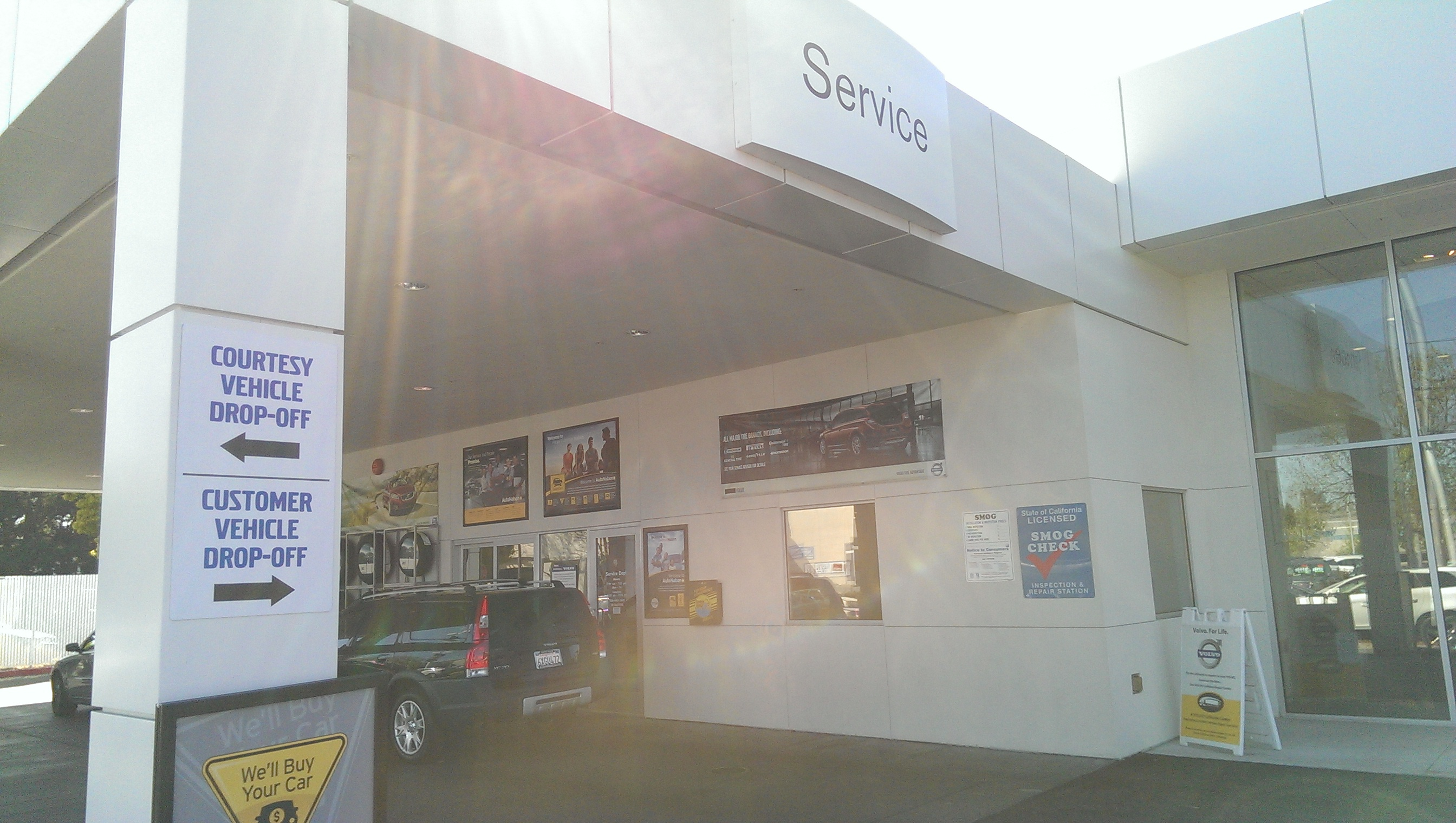 Autonation volvo cars san jose at 4600 stevens creek for Autonation mercedes benz san jose