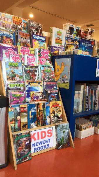 Hourglass Comics in Port Moody