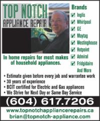 Top Notch Appliance Repair