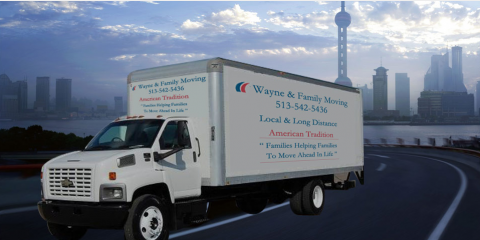 Wayne And Family Moving - ad image
