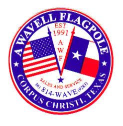 A Wavell Flagpole image 1