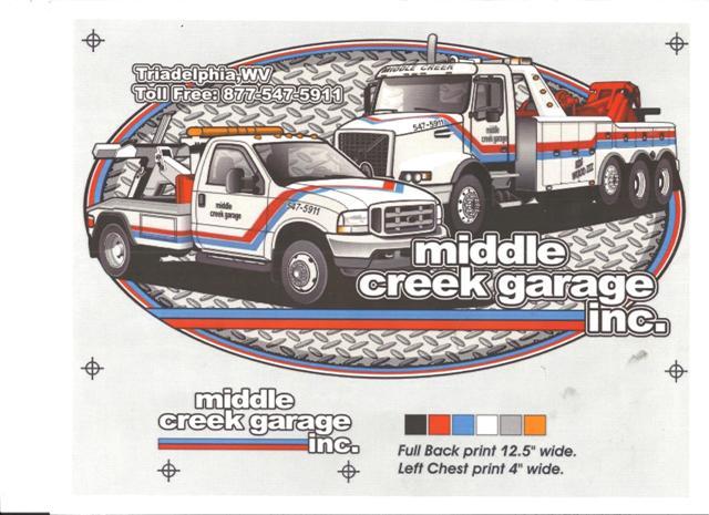 Middle Creek Garage - ad image
