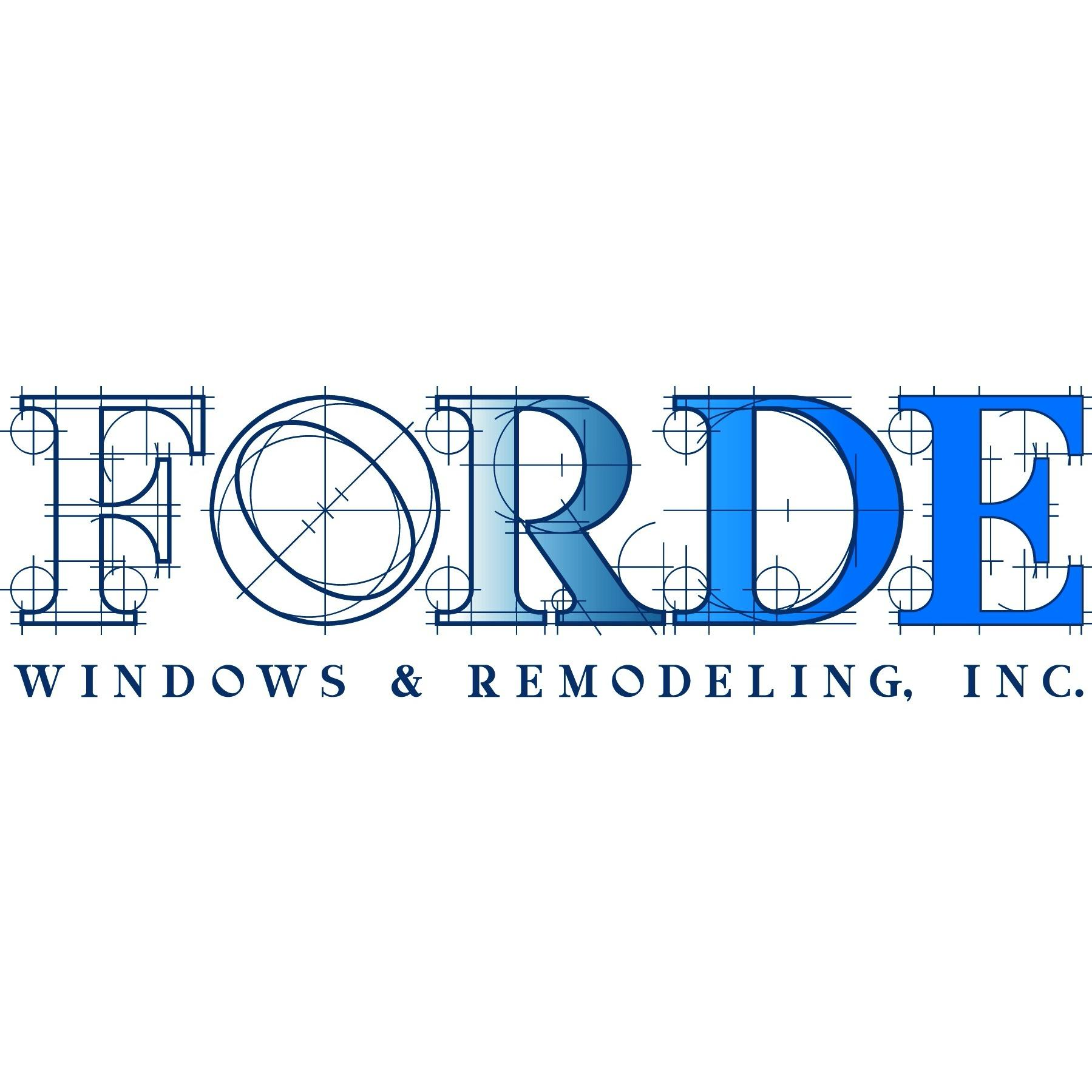 Forde Windows and Remodeling, Inc.