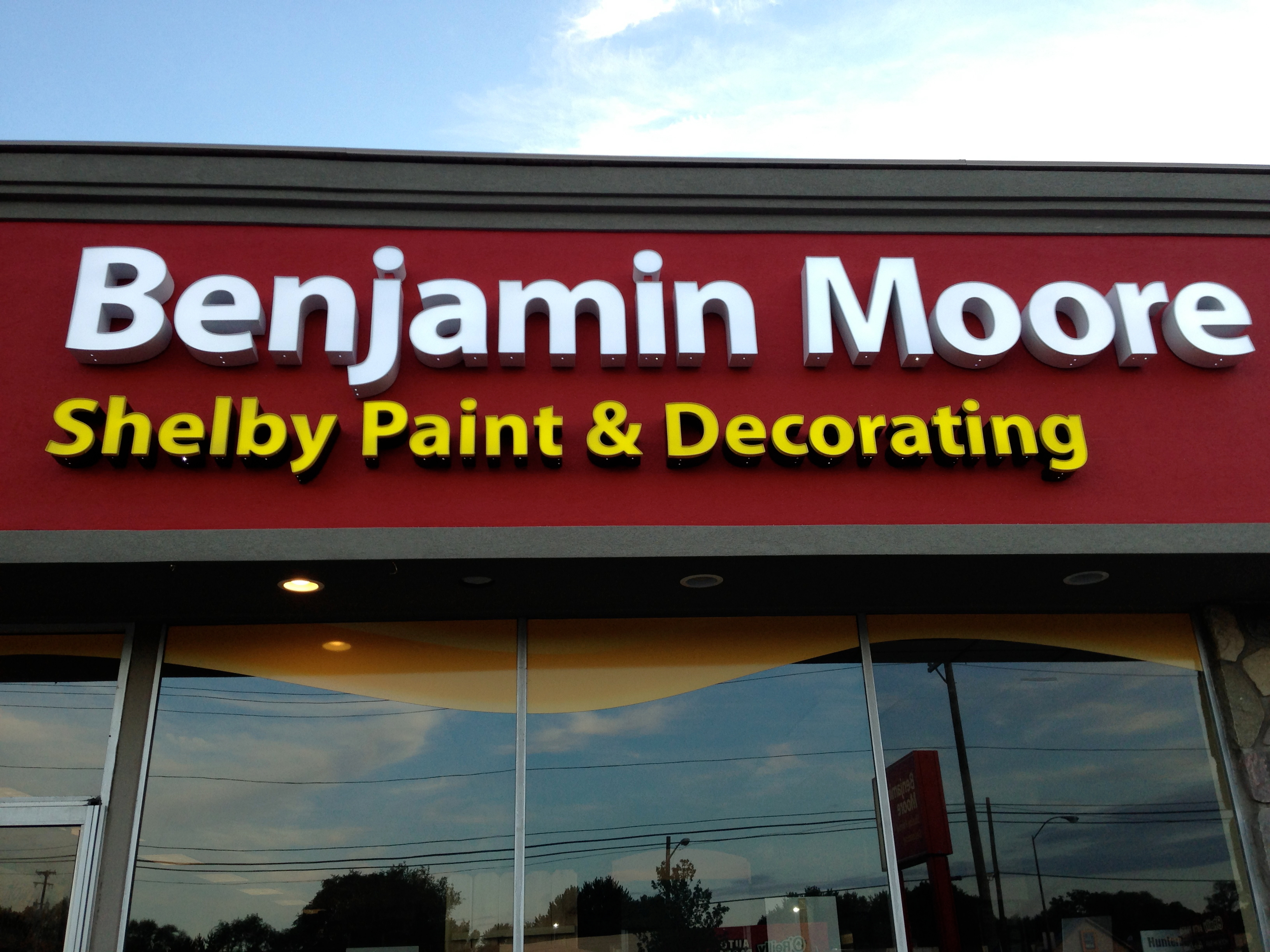 Shelby paint decorating motor city paint coupons near for Benjamin moore paint store san francisco