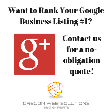 Are you ranking in Google? Let Oregon Web Solutions Portland SEO help you rank and bring in more traffic! Oregon Web Solutions - SEO - Portland                            1717 NE 42nd Ave #3800 Portland, OR 97213 (503)563-3028