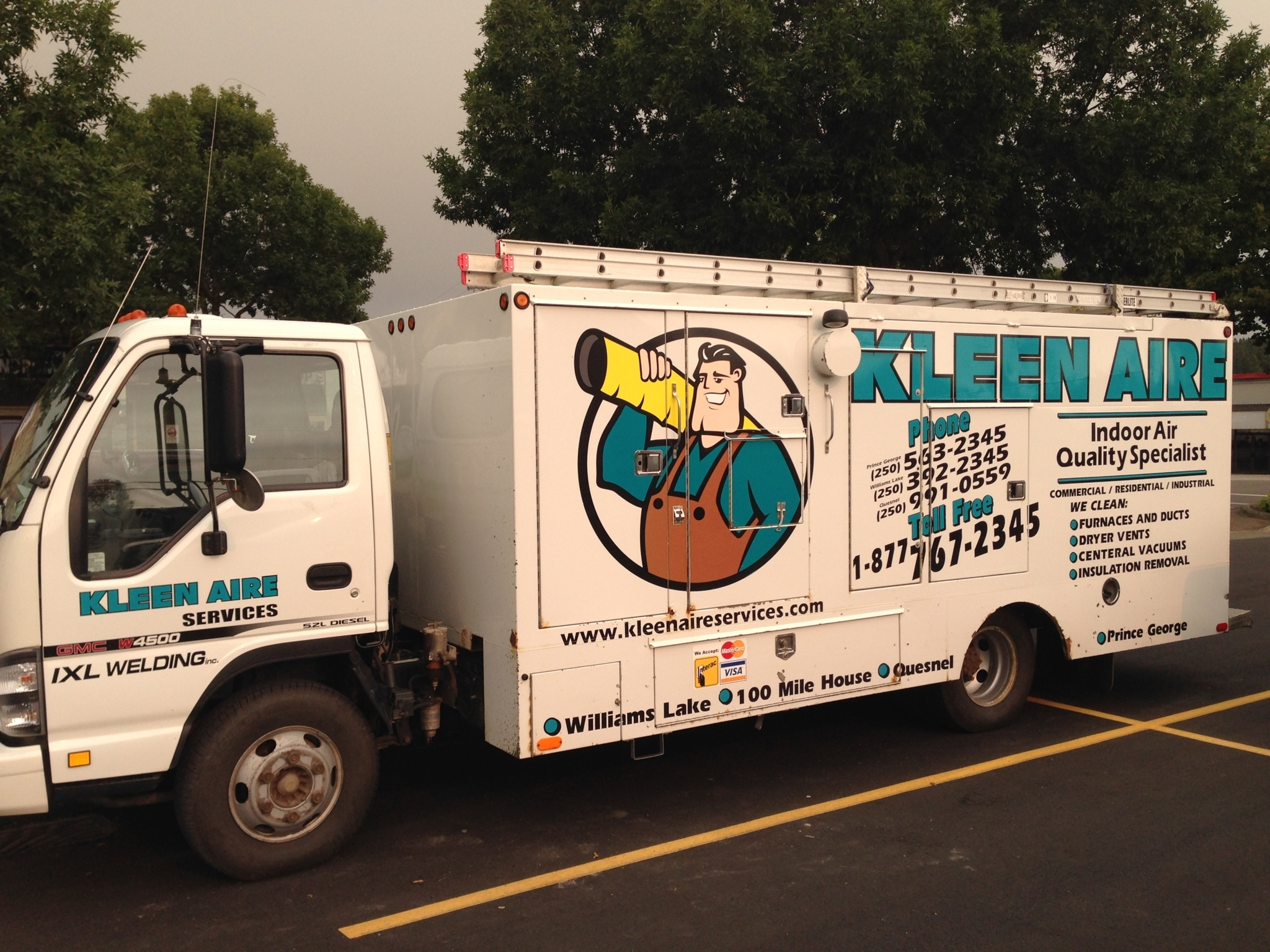 Kleen Aire Services in Williams Lake