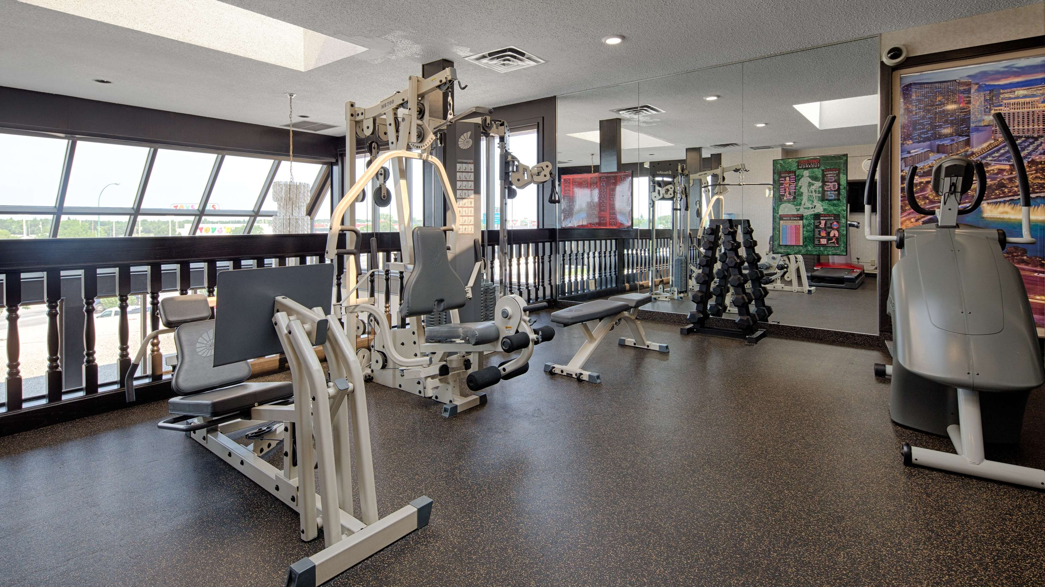 Best Western Seven Oaks Inn in Regina: Fitness Center