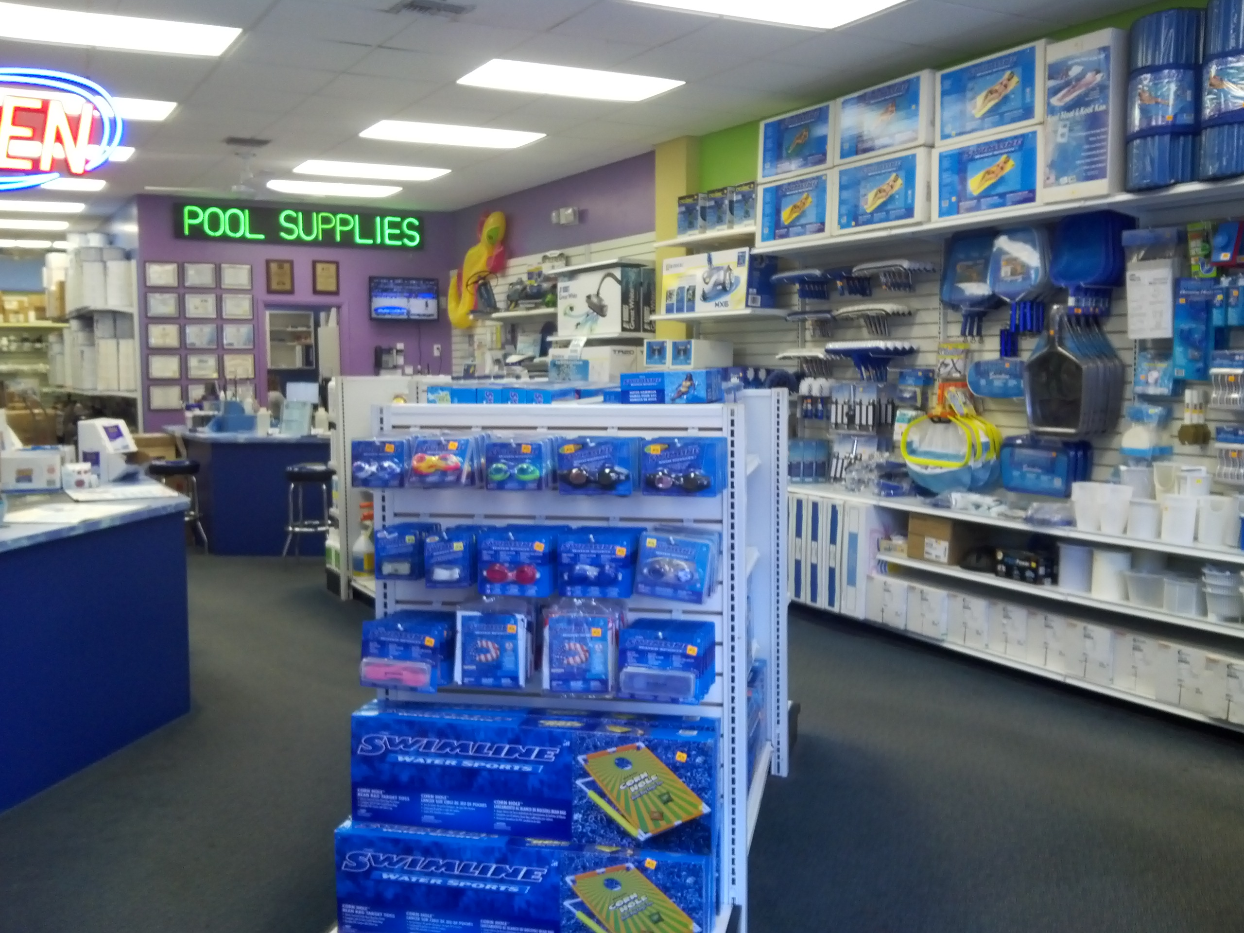 Allbrite pool supplies coupons near me in coral springs for Pool showrooms near me