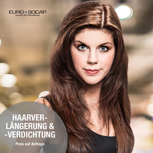HairExpress Haarverlängerung Euro Socap Hair Extension