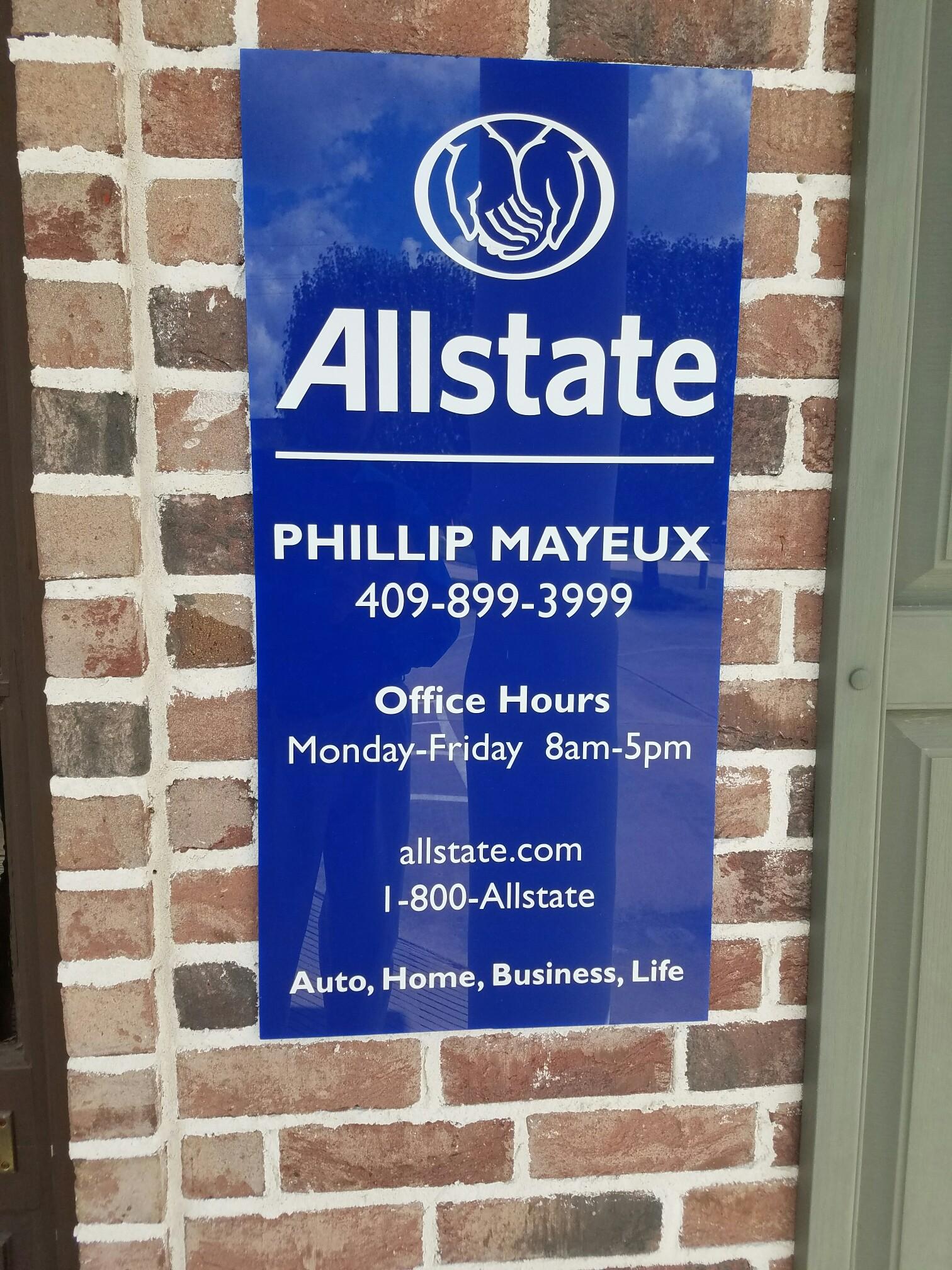 Allstate Life Insurance Quote Allstate Insurance Agent Phillip Mayeux 1550 Cornerstone Ct