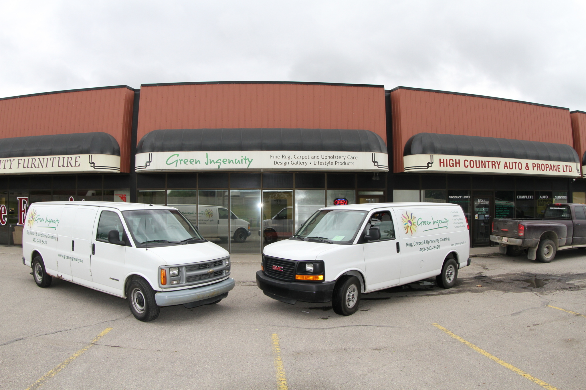 Green Ingenuity Inc in Calgary: Green Ingenuity - Rug, Carpet and Upholstery Cleaning