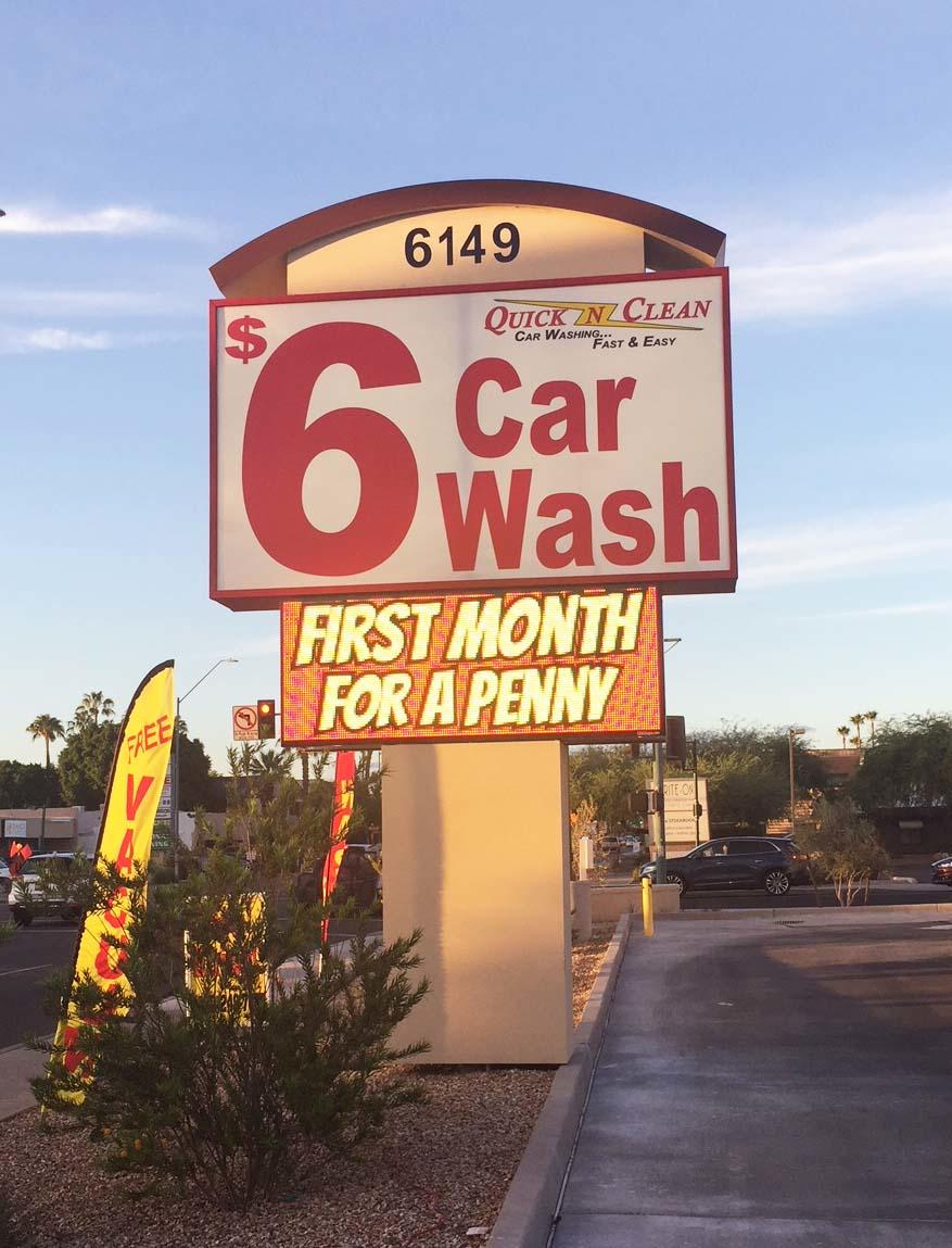 Quick N Clean Car Wash - CENTRAL PHOENIX - GRAND OPENING! image 3