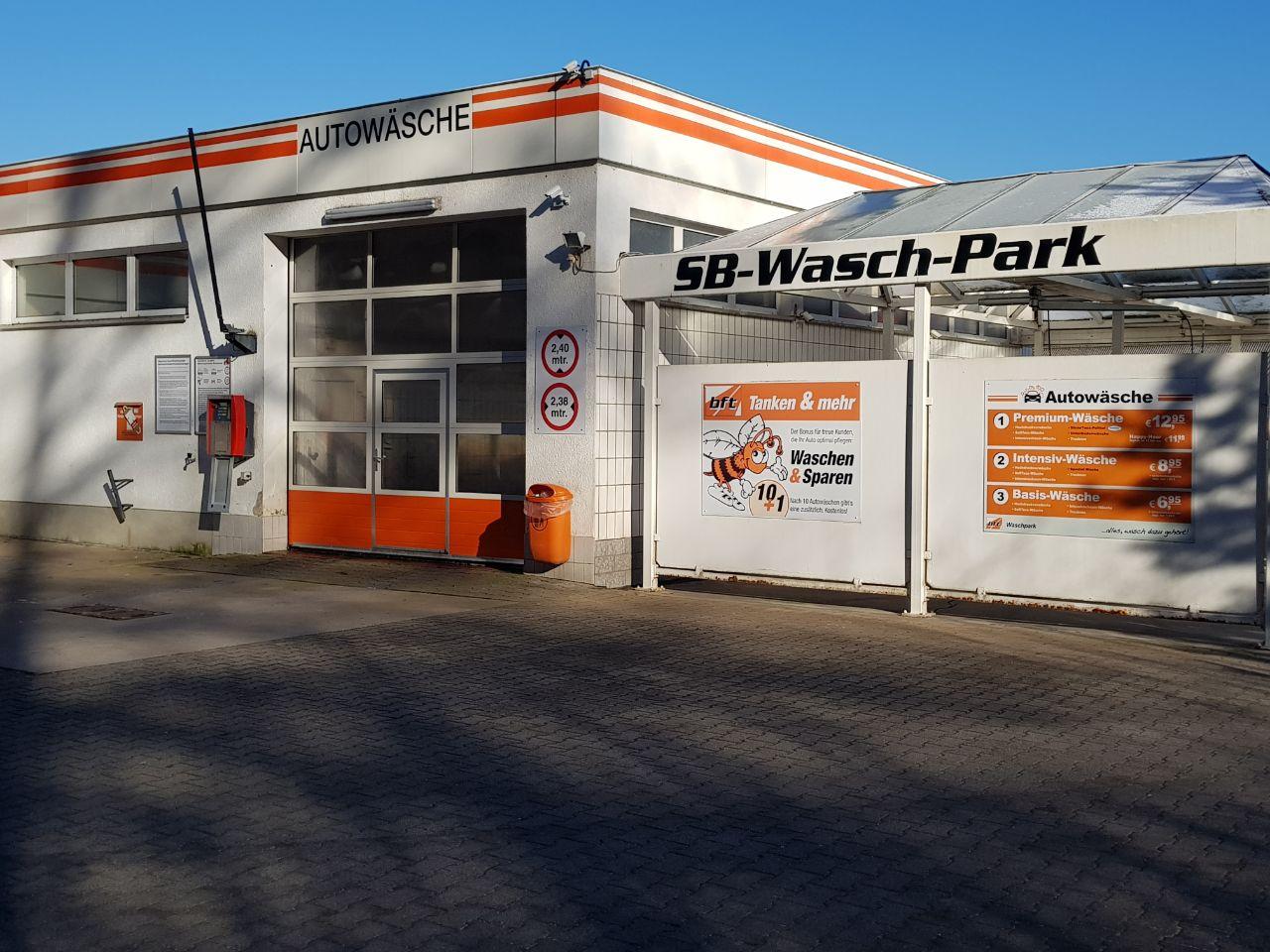 Waschportal + SB Boxen bft Wutha-Farnroda