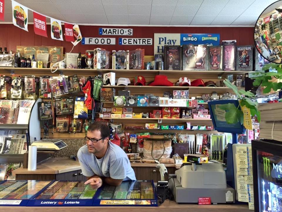 Mario's Food Centre in Vanier