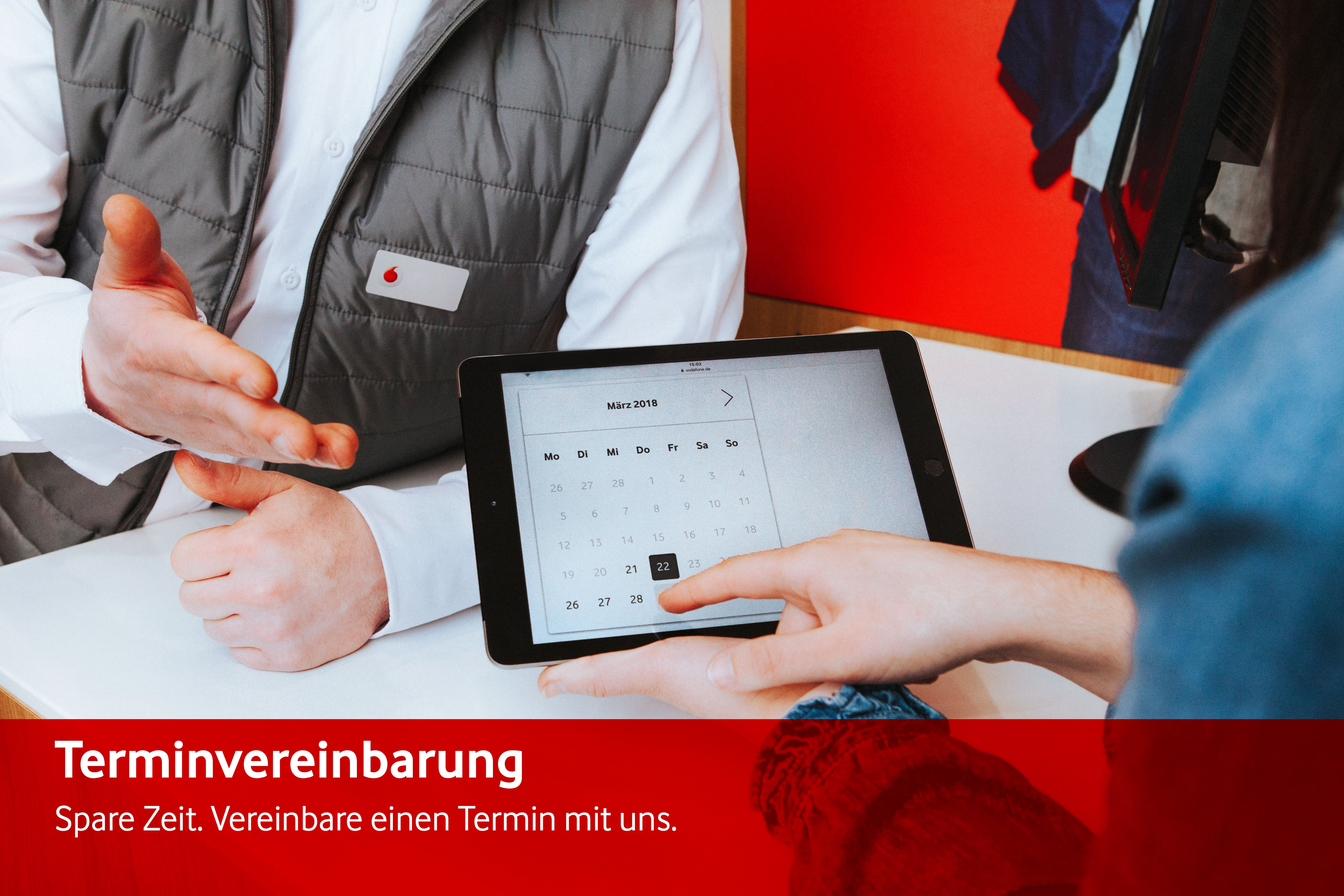 Vodafone Shop, Werth 5 in Wuppertal
