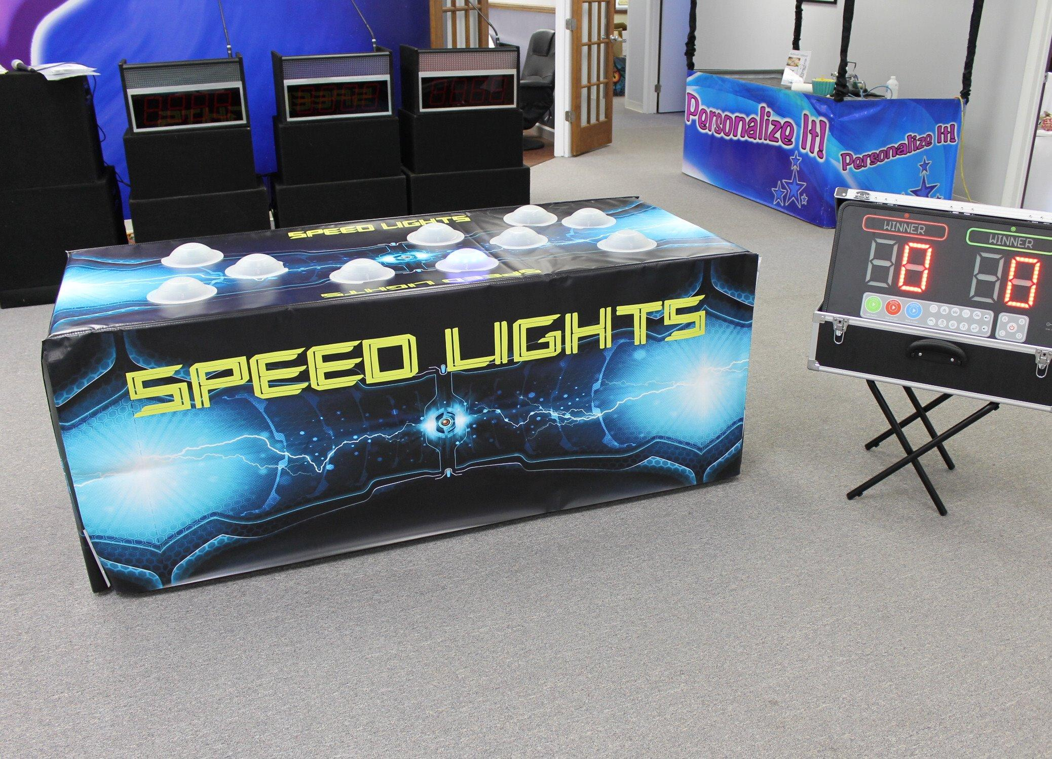 Compete your co-workers in a Round of Speed Lights