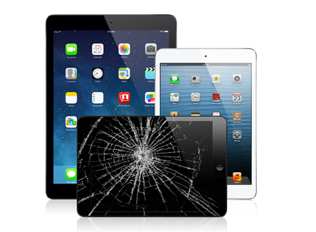geek squad fix cracked ipad screen