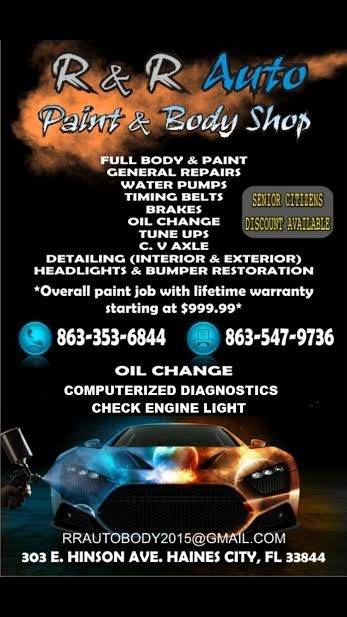 r r automotive paint body shop coupons near me in haines city 8coupons. Black Bedroom Furniture Sets. Home Design Ideas