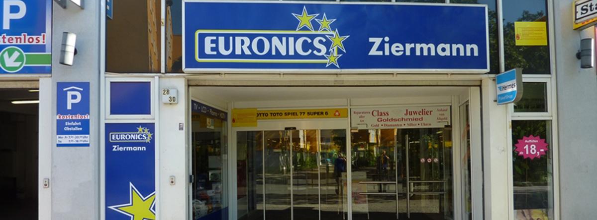 EURONICS Ziermann, Obstallee 28-30 in Berlin