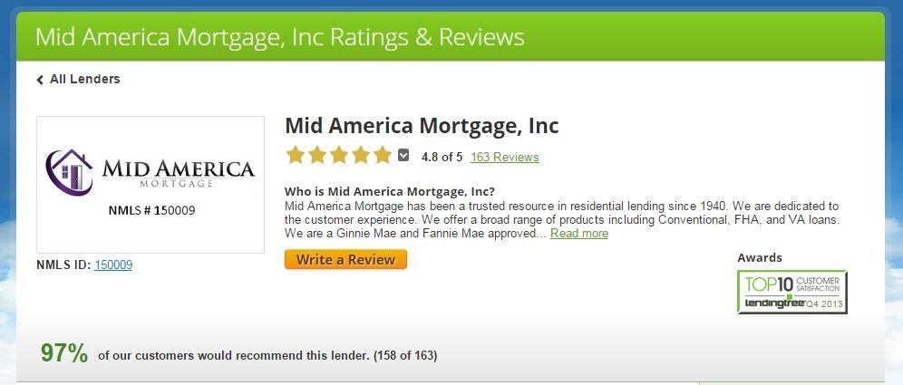 Mid America Mortgage, Inc. NMLS#838966 - ad image