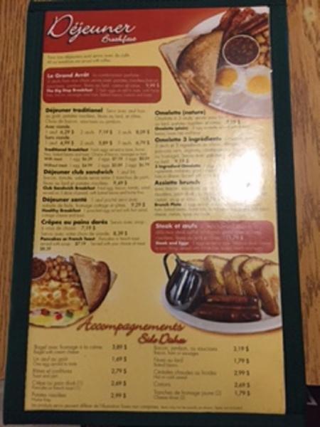 Irving Restaurant à Dégelis
