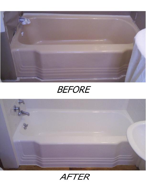 THERMOGLAZE BATHTUB REFINISHING image 1