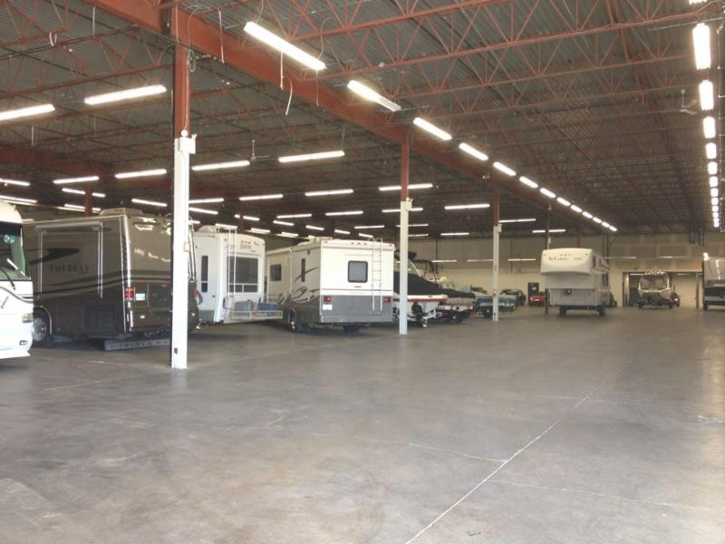 Space Centre Self Storage in Kelowna: Indoor RV & Boat Storage