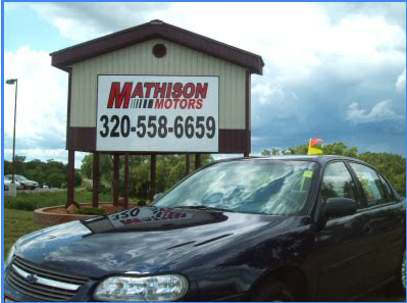 mathison motors inc clearwater mn business directory