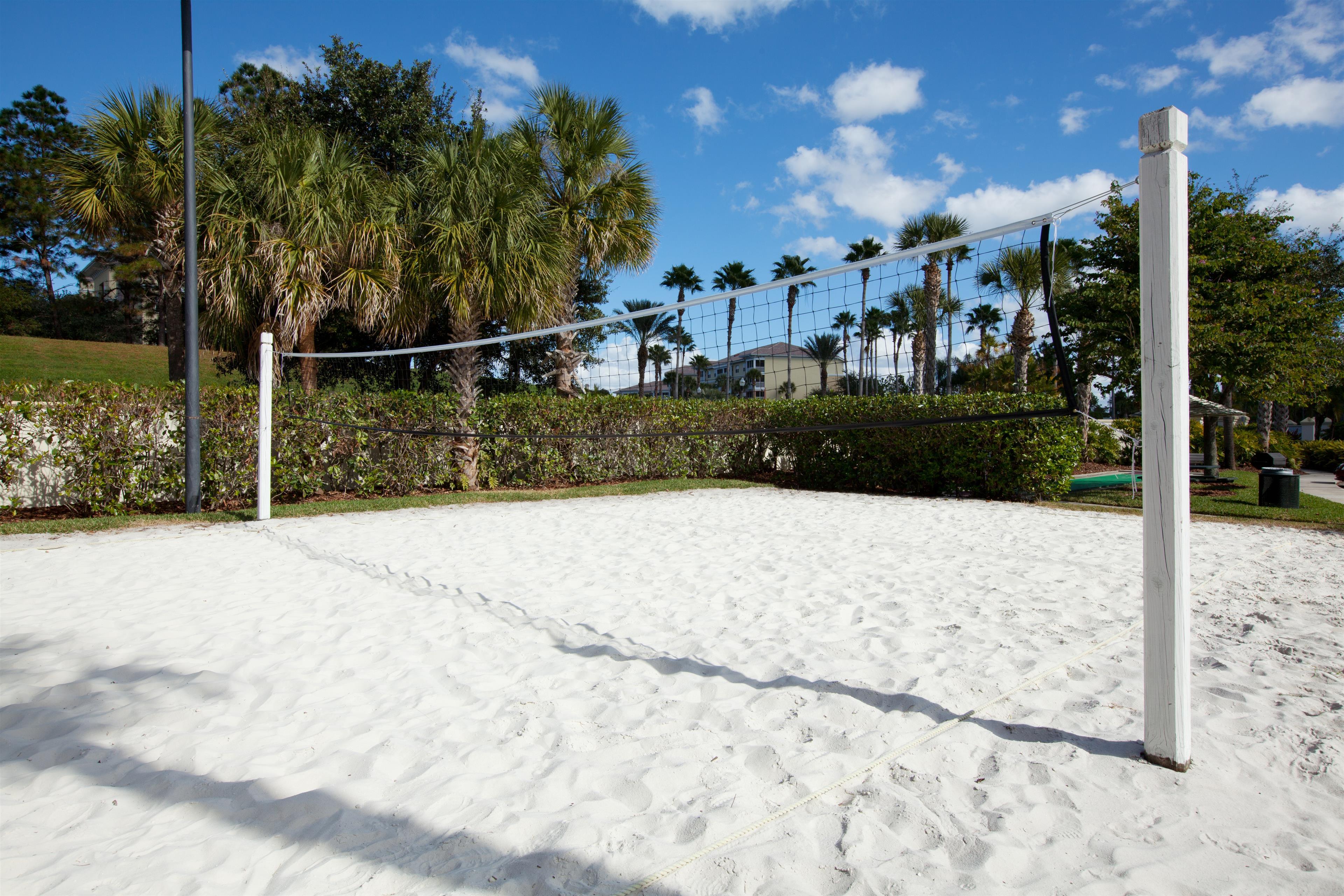 Volleyball Court.