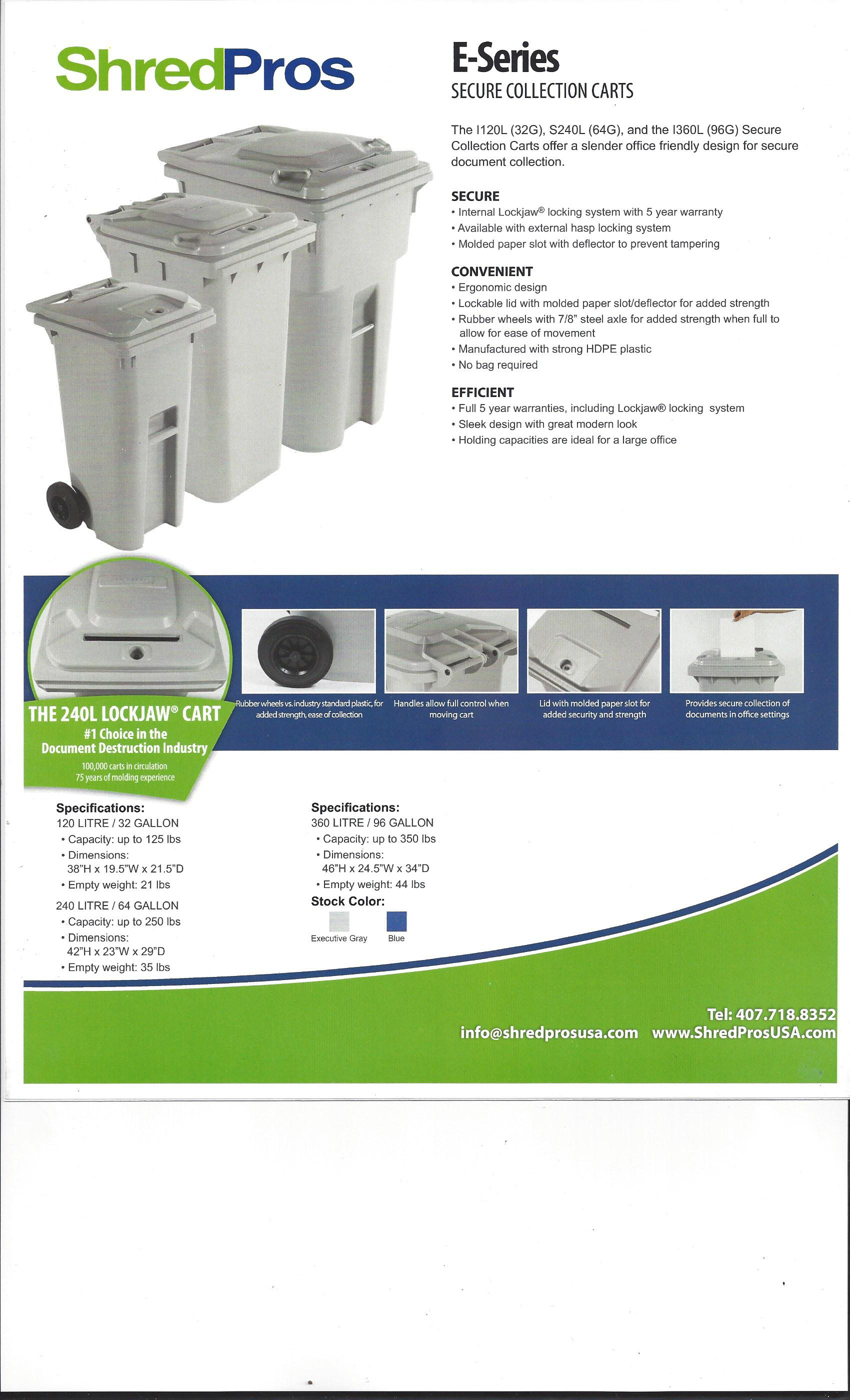 mobile paper shredder business