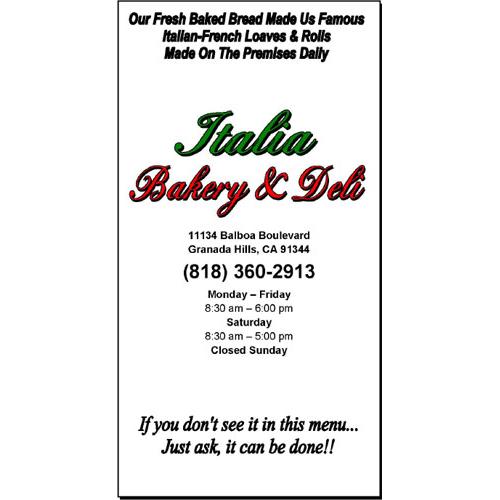 Italia Bakery & Deli