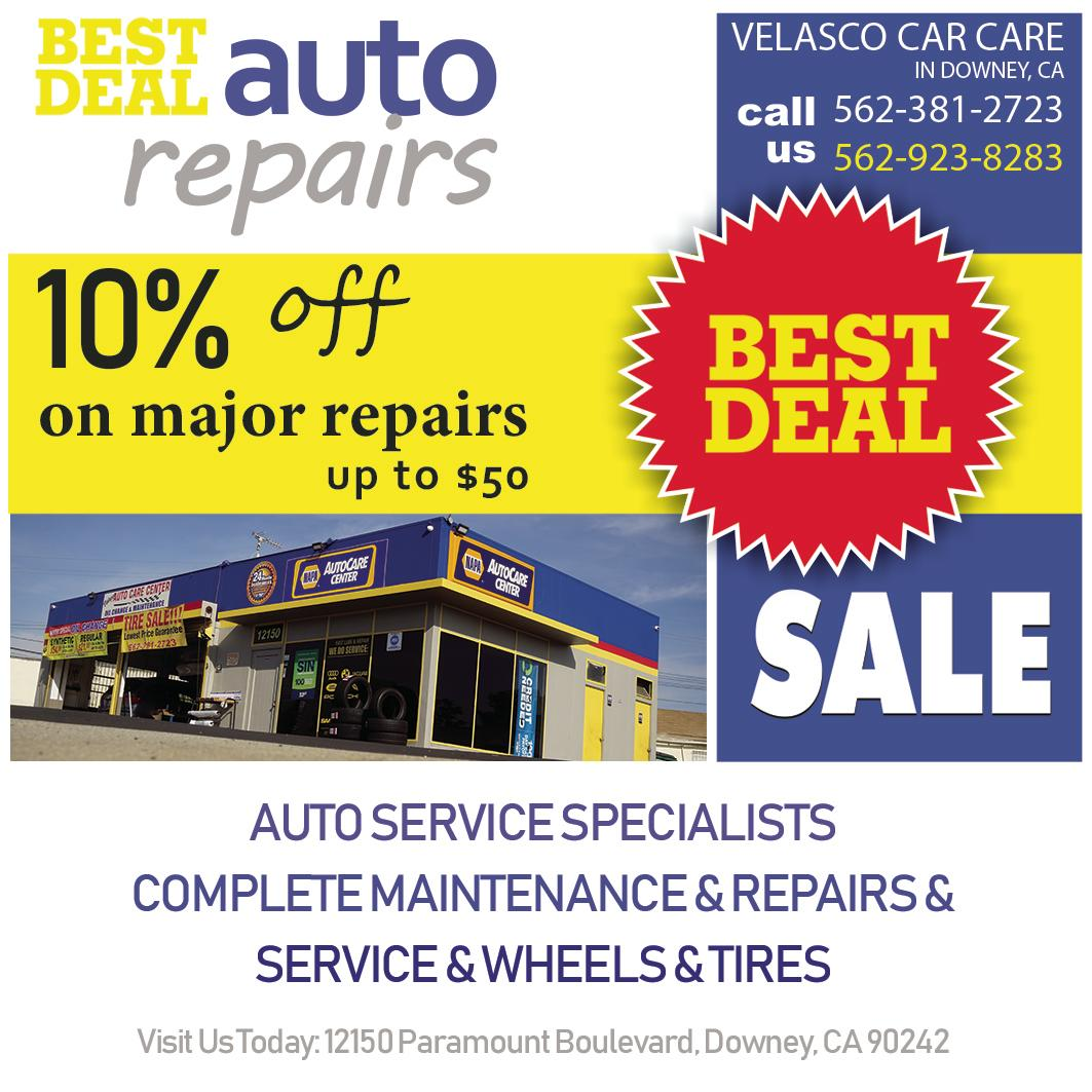 Velasco Auto Repair & Service Downey