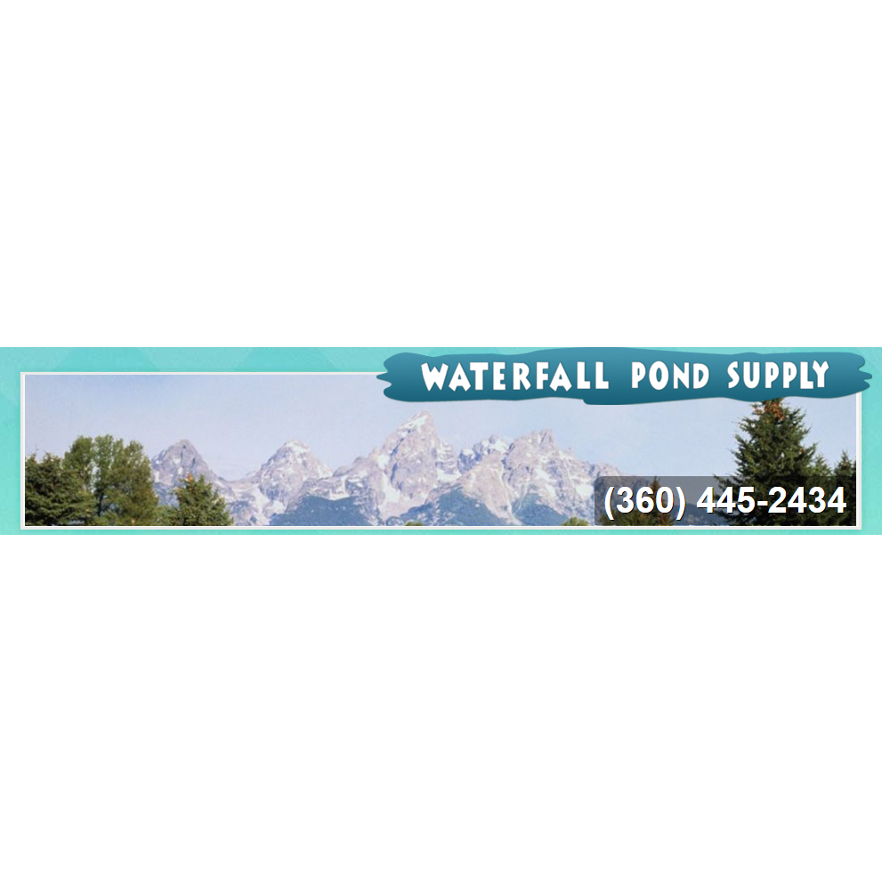 Waterfall pond supply of wa for Pond supply companies