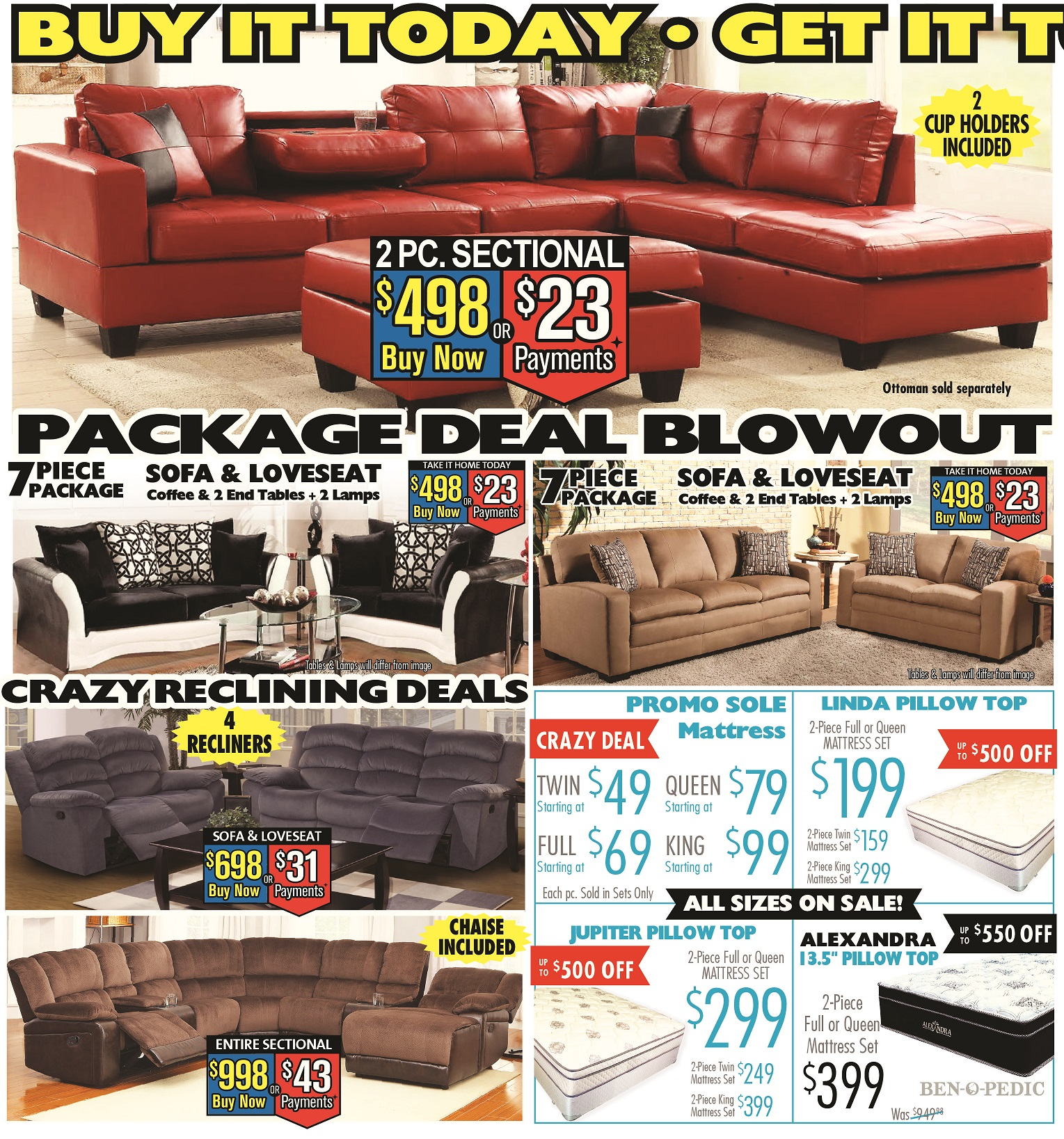 Furniture Store Cheap Prices: Price Busters Discount Furniture In Brooklyn Park, MD
