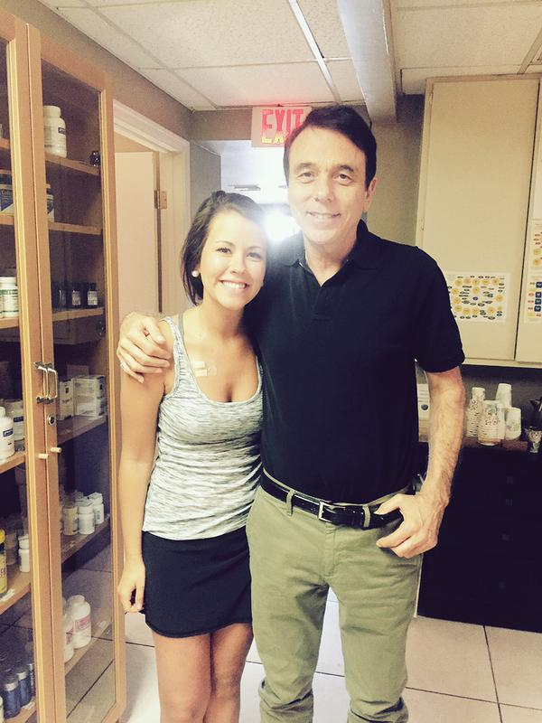Jessica L. and Dr. Lodi. Join Jessica's Journey: http://joiningjessica.com