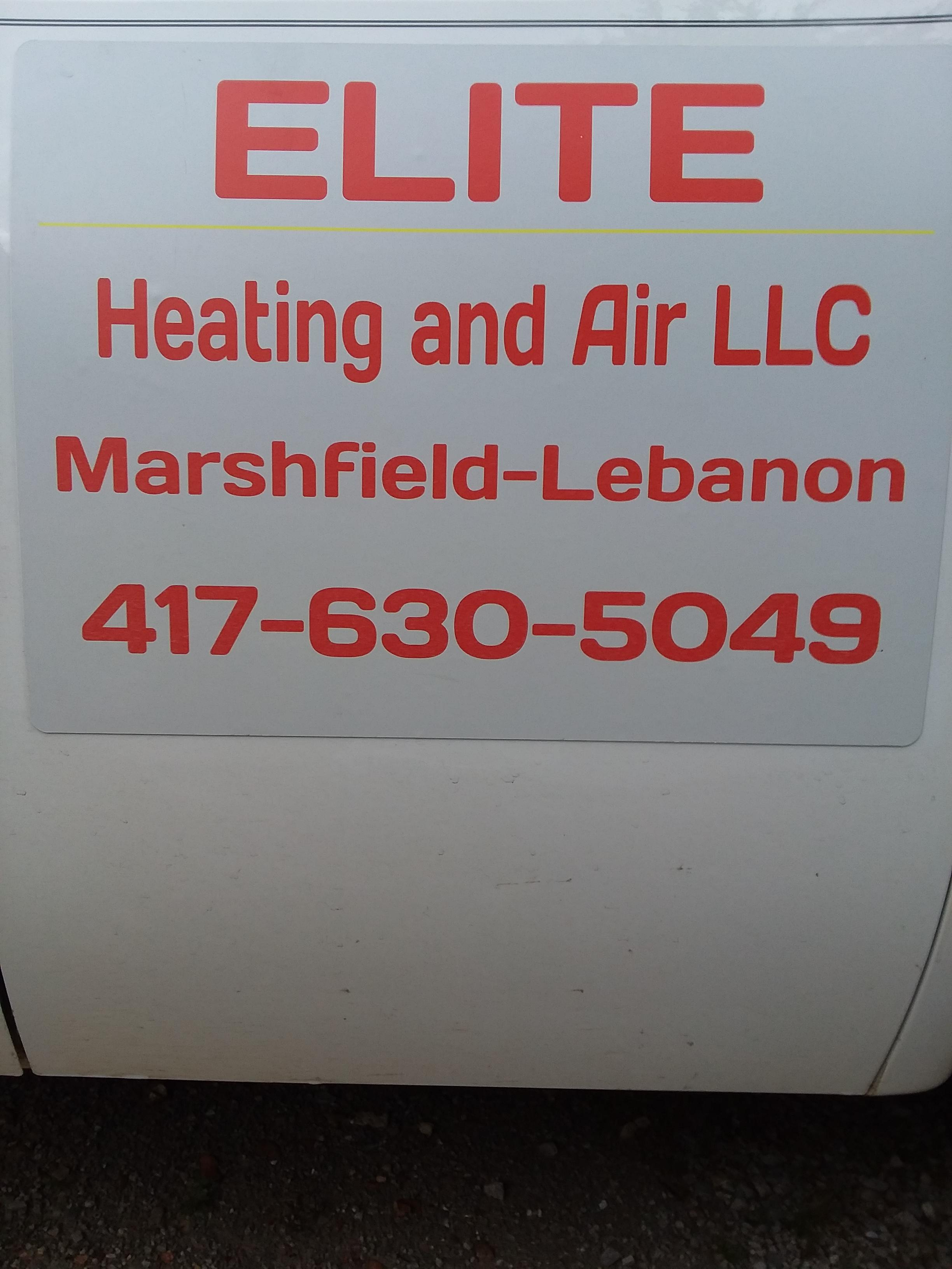 ELITE HEATING AND AIR LLC image 1